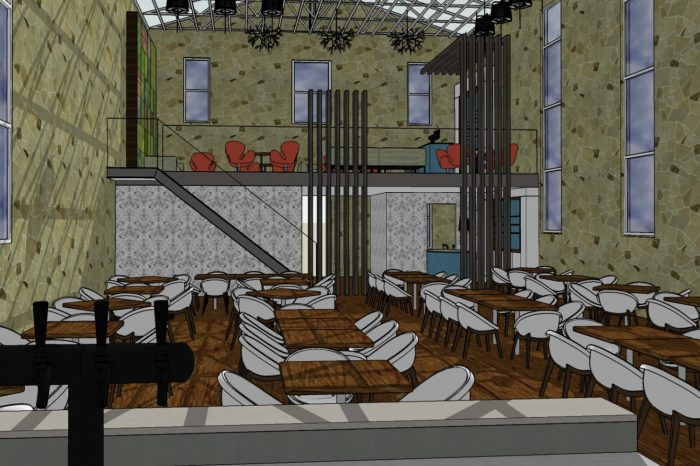 Palmer restaurant concept internal render