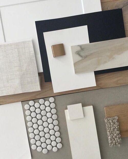 flatlay of materials